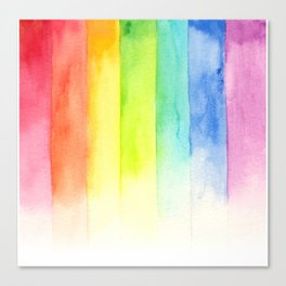 seven colors mix Canvas Print