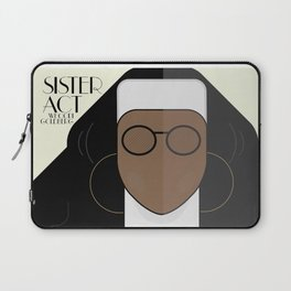 Sister Act, minimal Movie Poster, classic comedy film, funny, Whoopi Golberg, american cinema Laptop Sleeve