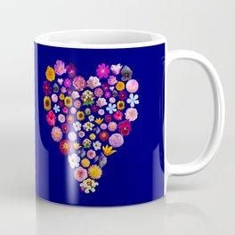 Heart of Flowers Coffee Mug