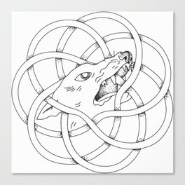 Torus Dawg Canvas Print