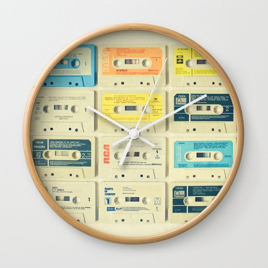All Tomorrow's Parties Wall Clock