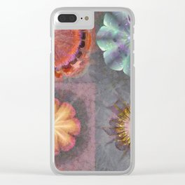 Absenters Intermixture Flower  ID:16165-065456-80170 Clear iPhone Case