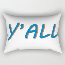 Hey, y'all! Rectangular Pillow