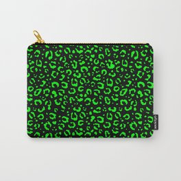 Leopard (green spots in the dark) Carry-All Pouch