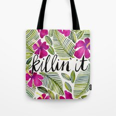 Killin' It – Tropical Pink Tote Bag
