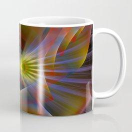 Inner light, spiritual fractal abstract Coffee Mug