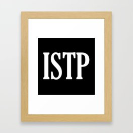 ISTP Framed Art Print