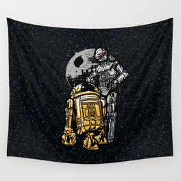Daft Droids Wall Tapestry