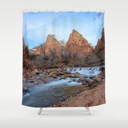 Virgin_River Falls - Zion Court Shower Curtain