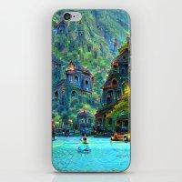 peru iPhone & iPod Skins featuring Ceti Peru by Bunny Clarke