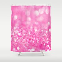 fairytale Shower Curtains featuring Fairytale Dreams by Beth - Paper Angels Photography