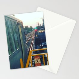 The El at Sunset Stationery Cards