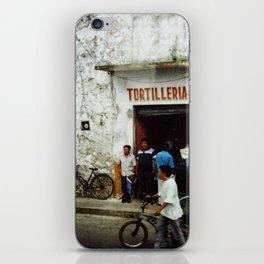Tortilleria Rosario iPhone Skin