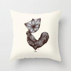 Hen's 3D hair Throw Pillow