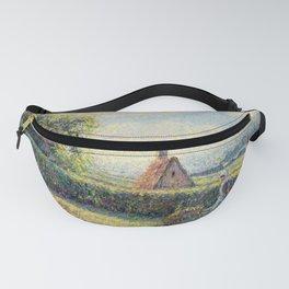 "Camille Pissarro ""Femme poussant une brouette, Eragny""(""Woman pushing a wheelbarrow, Eragny"") Fanny Pack"