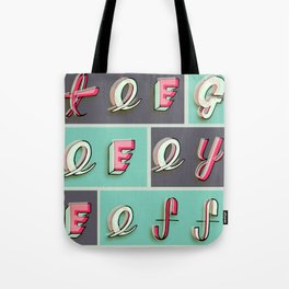 Tee-Gee-Eye-Eff Tote Bag