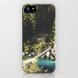 Mallero Mountain River - Lombardia - Italy iPhone Case