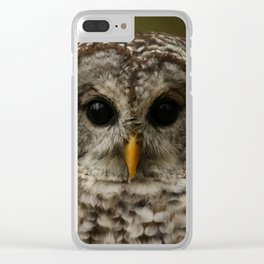 I Only Have Eyes For You Clear iPhone Case