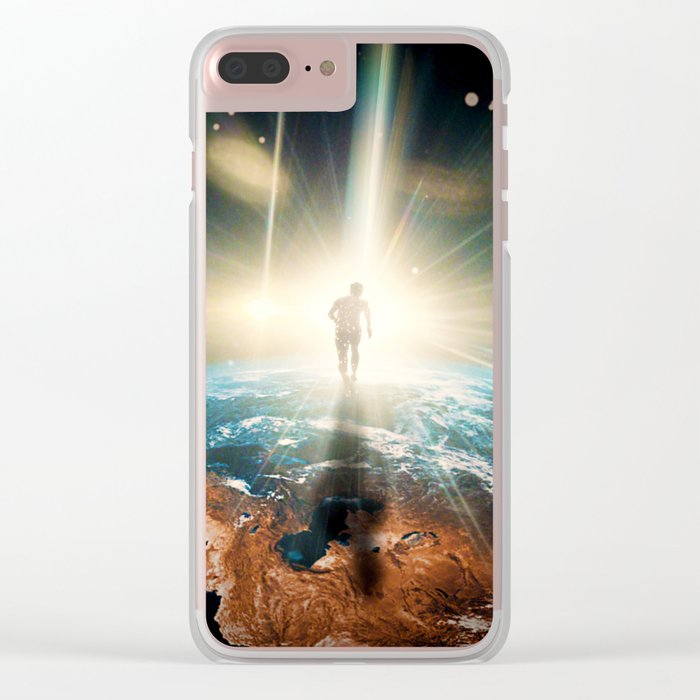 The Great Run Clear iPhone Case