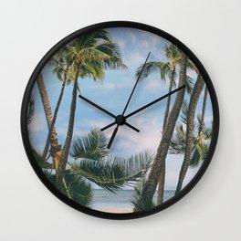 palmy Wall Clock