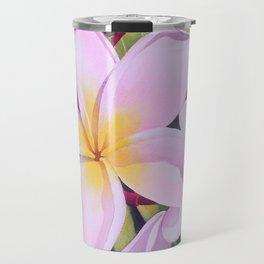 Hawaiian Plumerias Travel Mug