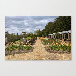 Italian Garden at Maymont Canvas Print