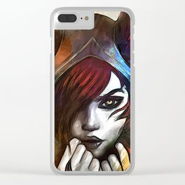 League of Legends XAYAH Clear iPhone Case