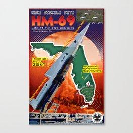 HM-69 Missile Site Canvas Print