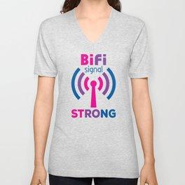 BiFi Signal Strong Unisex V-Neck