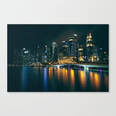 Singapore Skyline Canvas Print
