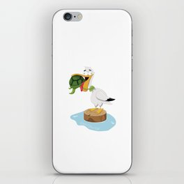 Don't Give Up! iPhone Skin