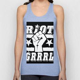 Riot Grrrl Unisex Tank Top