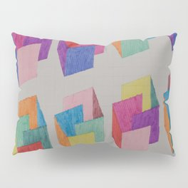 Isometric Markers Pillow Sham
