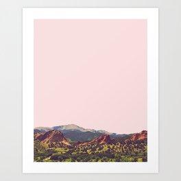 Colorado Pop Art Print
