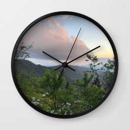 Blue Ridge Parkway 2 Wall Clock