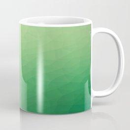 Green flakes. Copos verdes. Flocons verts. Grüne Flocken. Зеленые хлопья. Coffee Mug