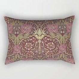 William Morris,Art Nouveau,Vintage pattern, floral victorian pattern, Rectangular Pillow