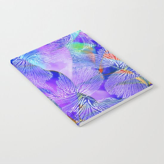 Hibiscus - pattern Notebook