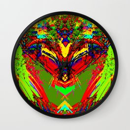 Ghost of springtime Wall Clock
