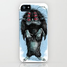 MONSTER IN MY CLOSET iPhone Case