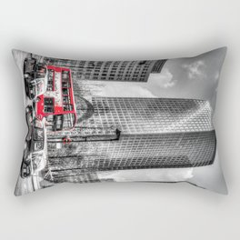 Canary Wharf  London Rectangular Pillow