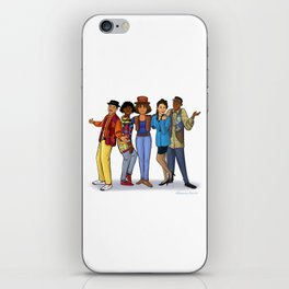 A Different World iPhone Skin