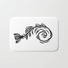B&W Bone Fishish 108 Bath Mat