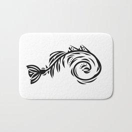 B&W Bone Fishish 108 Bath Mat