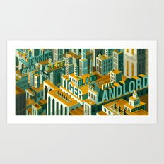 'Meme City' Art Print