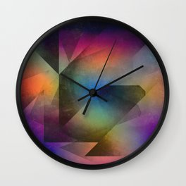 Cuts XX - Colour vs Form Wall Clock
