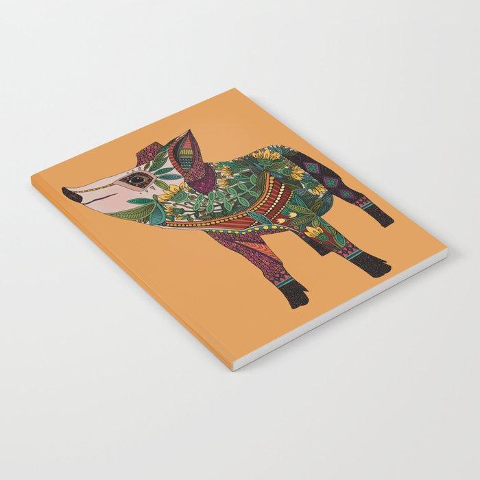 pig love amber Notebook