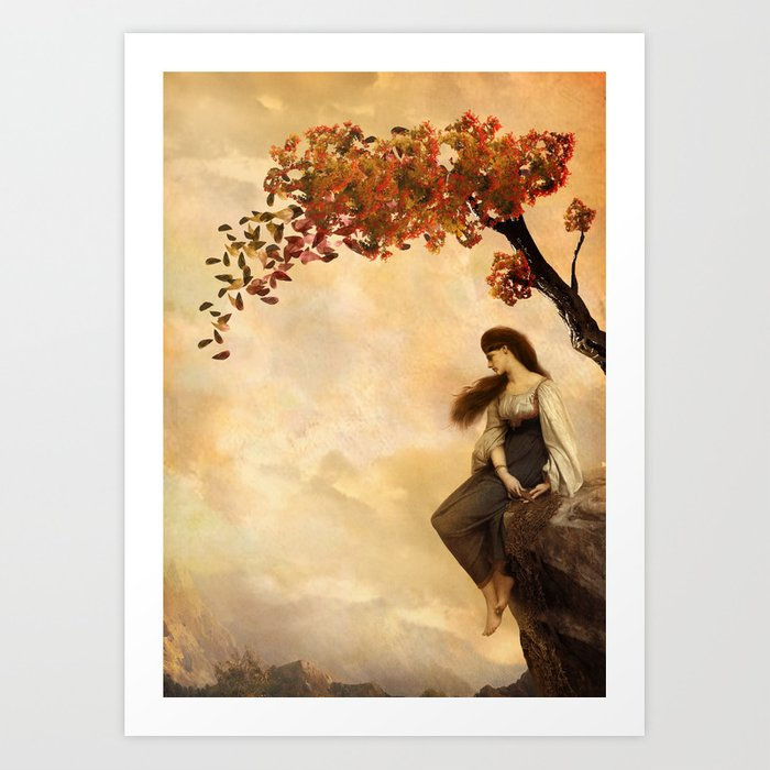 The Fall of Old Ways Art Print