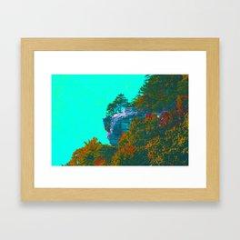 Breaks Cliffside Framed Art Print