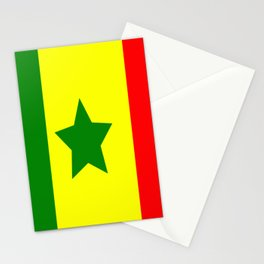 Flag of Senegal Stationery Cards